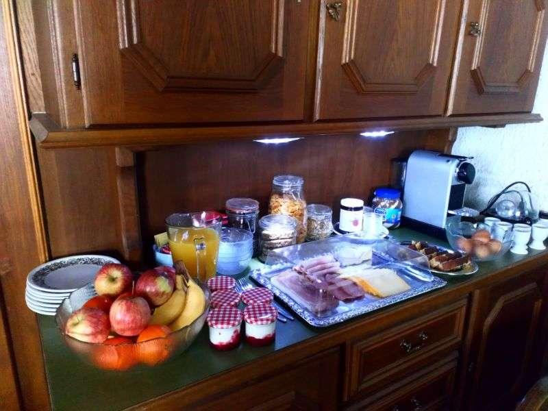 Breakfast buffet, Haus Schneeberg, Muehlbach am Hochkoeing