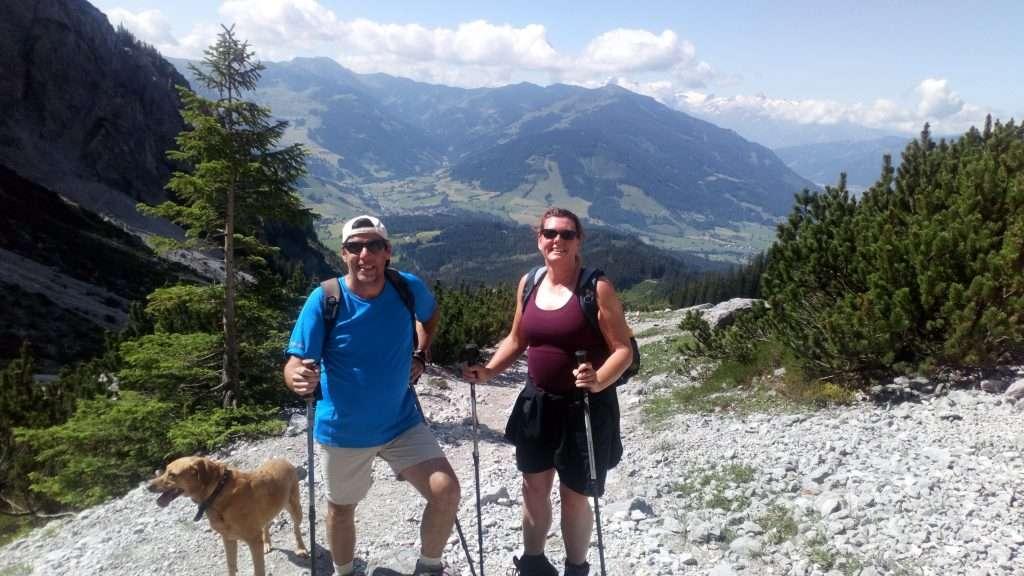 Riemanhaus hike and view
