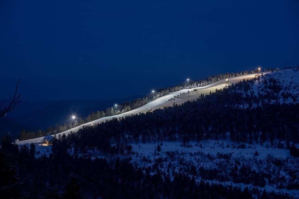 Night Skiing Hochkoenig