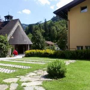 Haus Schneeberg garden
