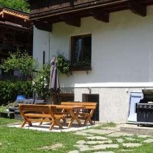 Ess- und Sitzbereich im Haus Schneeberg
