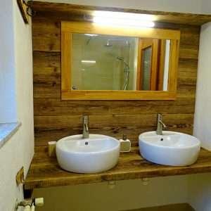 Aberg Badezimmer, Haus Schneeberg. Hochkoenig
