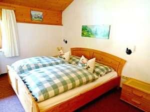 Aberg bedroom in Haus Schneeberg, Hochkoenig