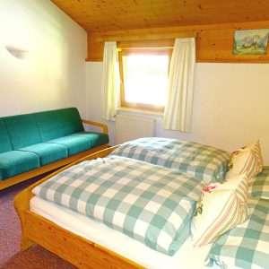 Aberg Schlafzimmer und Schlafsofa, Haus Schneeberg, Hochkoenig
