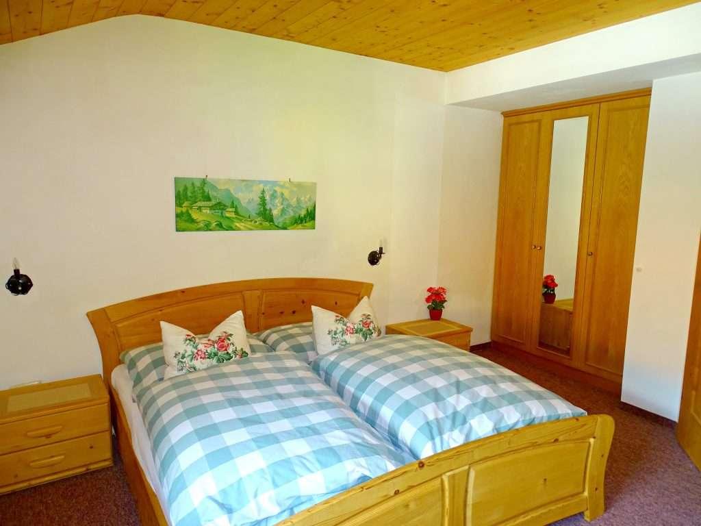 Aberg apartment bedroom, Haus Schneeberg, Hochkoenig