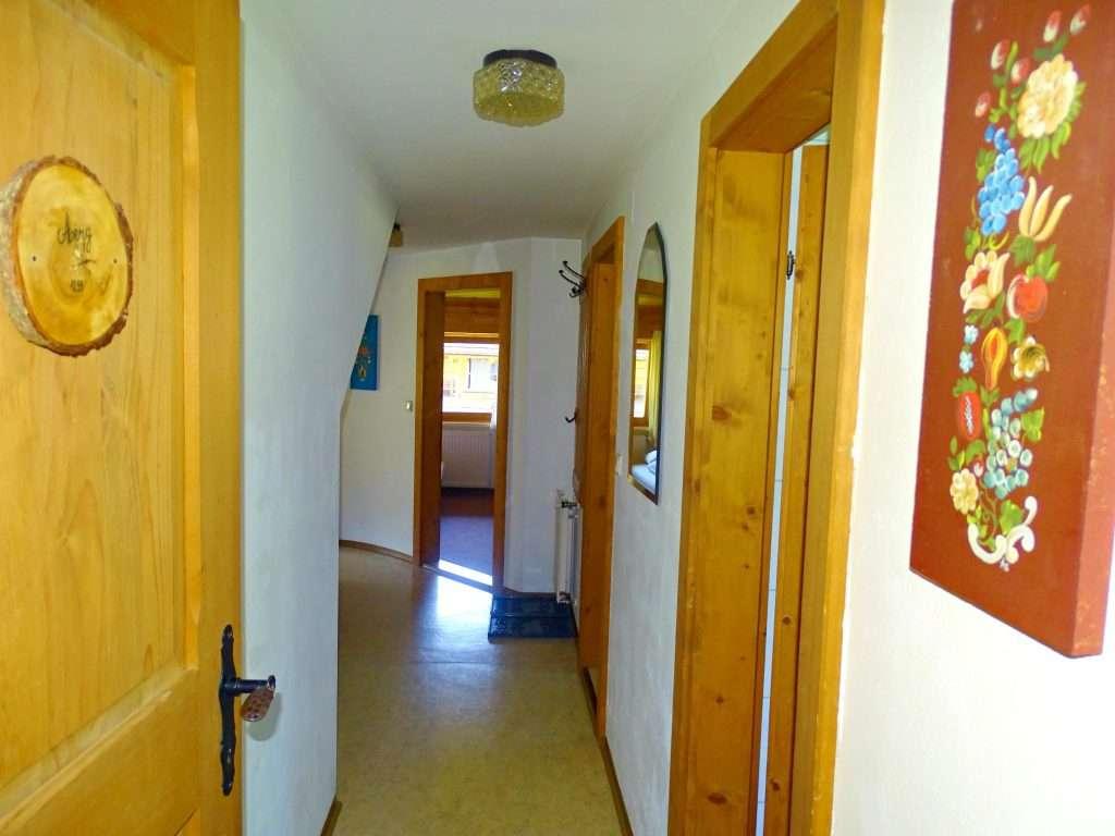 Aberg entrance, Haus Schneeberg, Hochkoenig