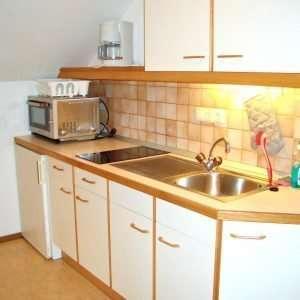 Aberg Apartment Küche, Haus Schneeberg, Hochkoenig