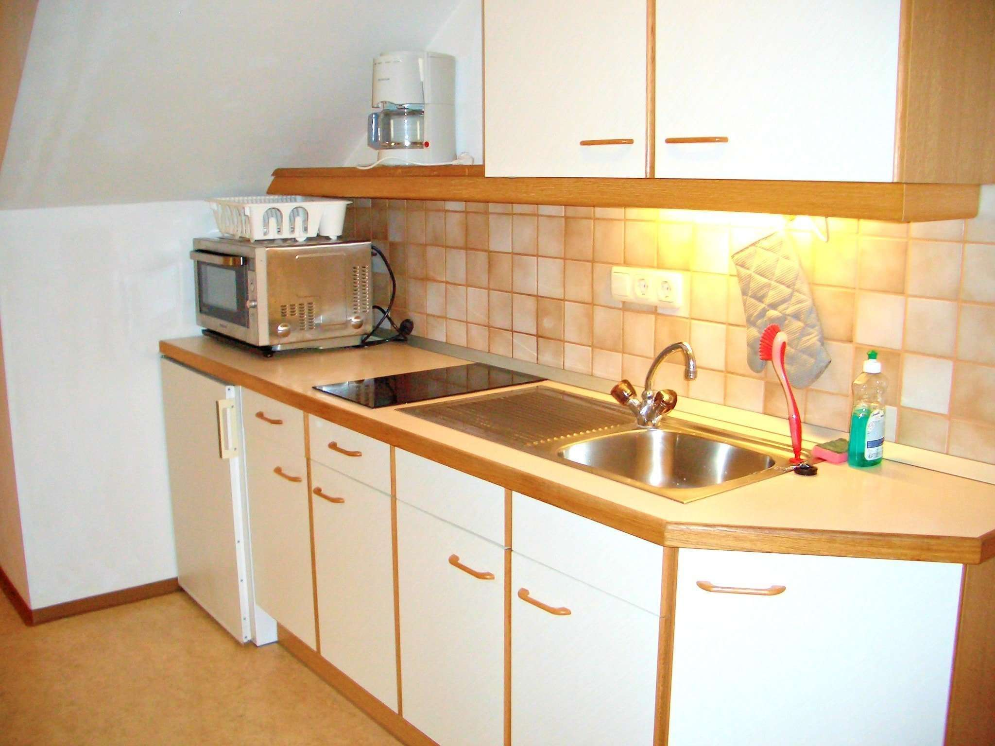 Aberg apartment kitchen, Haus Schneeberg, Hochkoenig