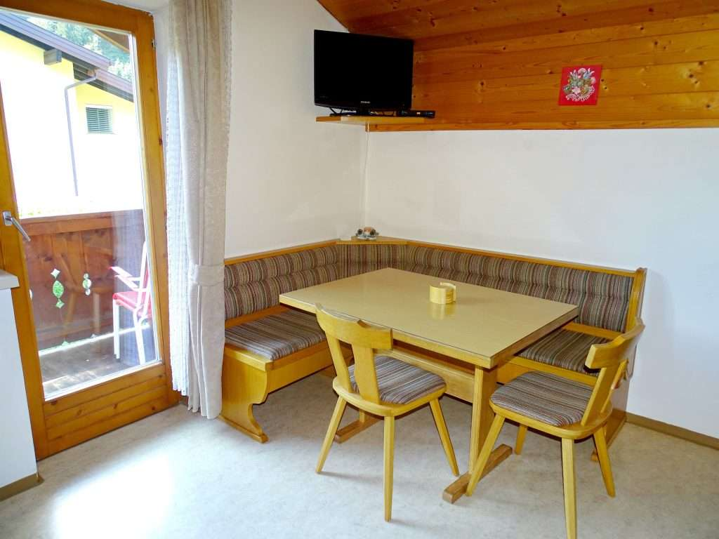 Dining area, Aberg Apartment, Haus Schneeberg, Hochkoenig