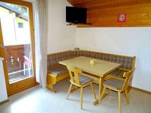 Coin repas, Appartement Aberg, Haus Schneeberg, Hochkoenig