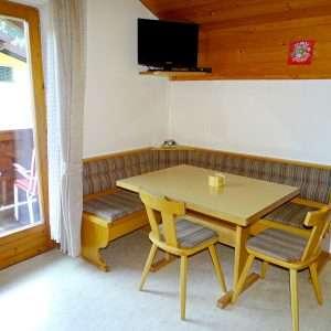 Essbereich, Aberg Apartment, Haus Schneeberg, Hochkoenig