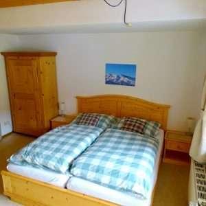 Wohnbereich - Kingsize-Bett, Aberg Apartment, Haus Schneeberg, Hochkoenig