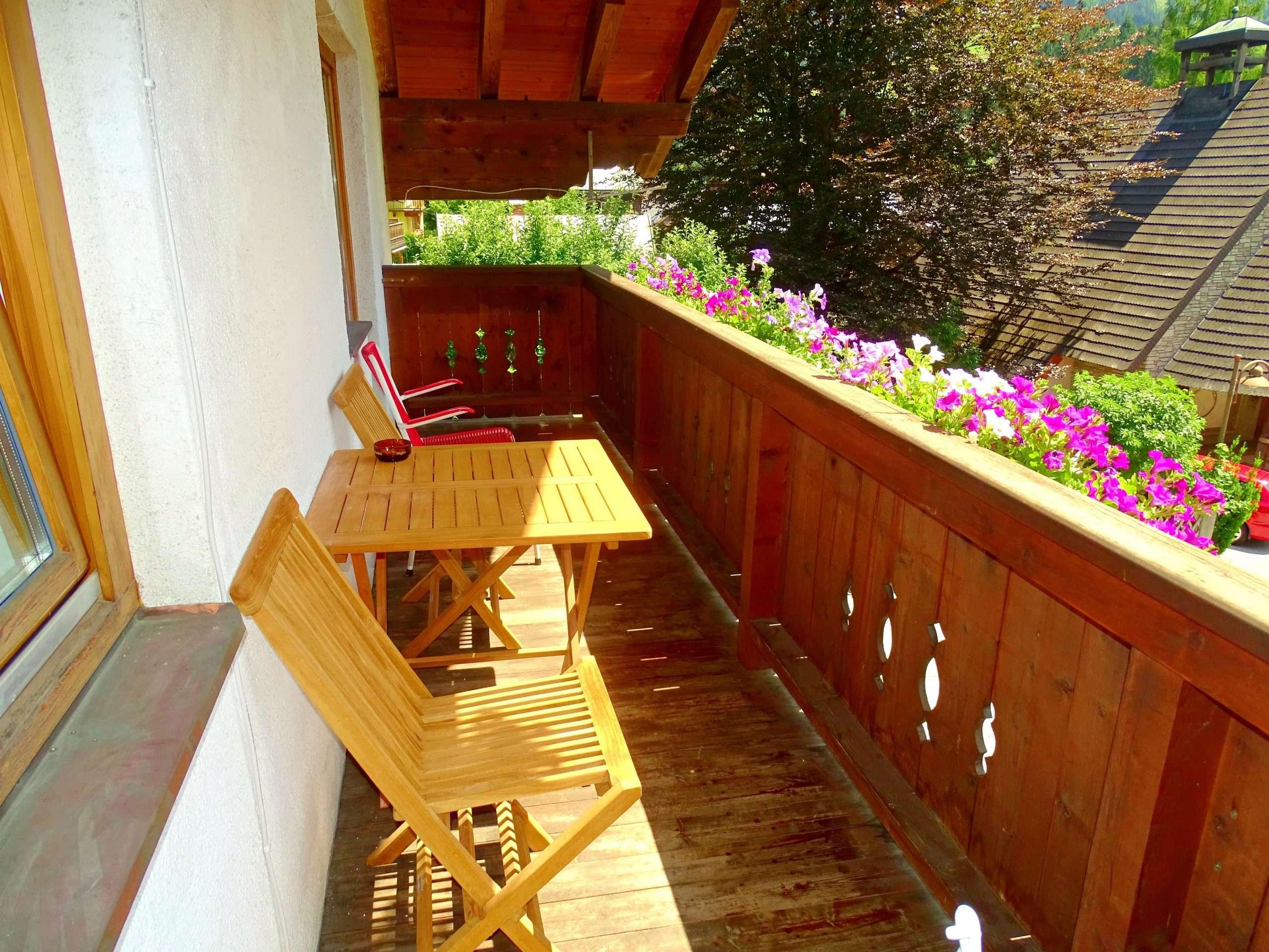 Hochkeil balcony Haus Schneeberg. Hochkoenig