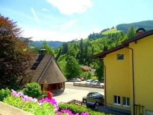 Hochkeil balcony view Haus Schneeberg, Hochkoenig