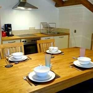 Selbhorn dining table Haus Schneeberg, Hochkoenig