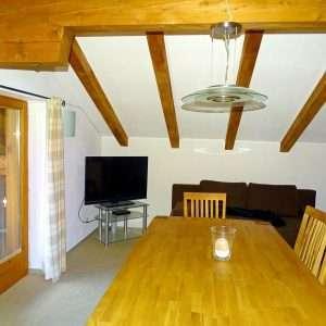 Living room, Selbhorn apartment, Haus Schneeberg, Hochkoenig