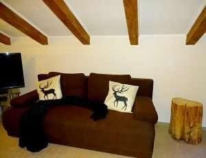 Selbhorn sofa bed Haus Schneeberg, Hochkoenig