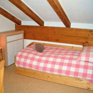 Selbhorn Einzelbett, Haus Schneeberg, Hochkoenig