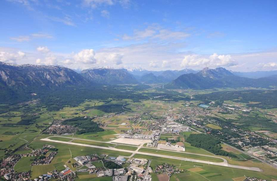 Salzburgi repülőtér