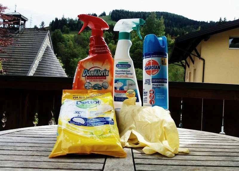 Cleaning products Haus Schneeberg