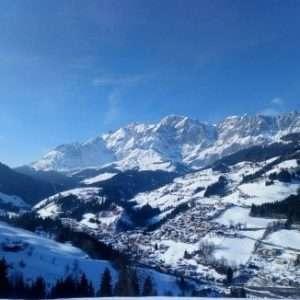 Mühlbach am Hochkönig im Winter
