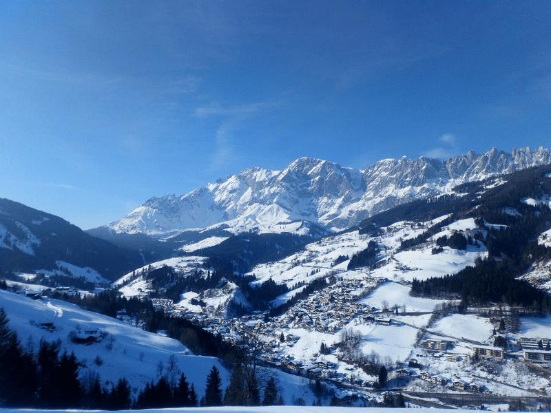 Muehlbach am Hochkonig in Winter