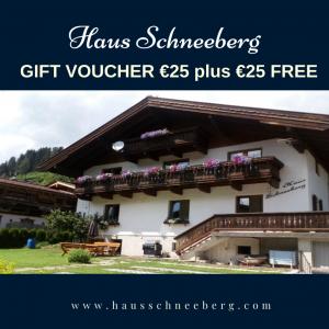 Gift Voucher Haus Schneeberg