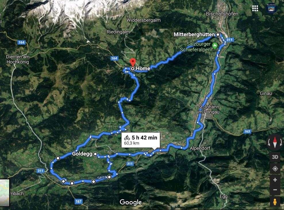 Goldegg E bike tour