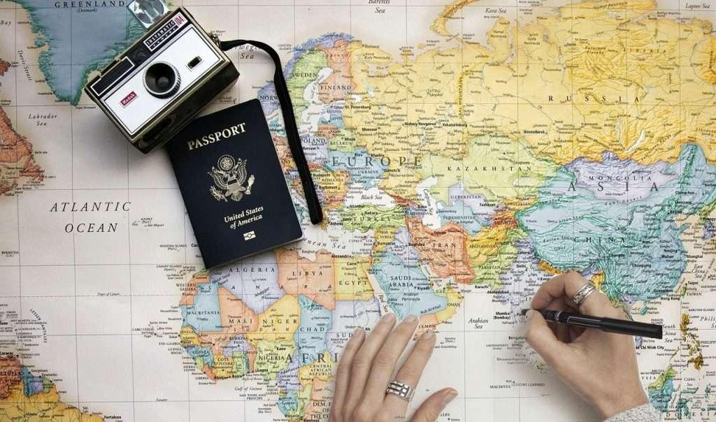 Vergessen Sie Ihren Reisepass nicht