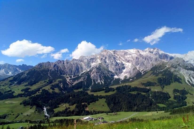 Hochkönig uitzicht vanaf Zachofalm