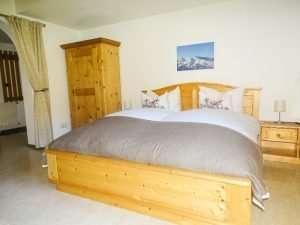 Aberg hálószoba - king-size ágy, Haus Schneeberg