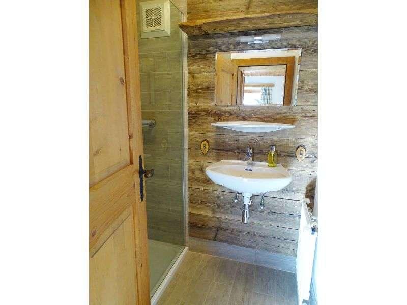 Hochkeil apartman fürdőszoba, Haus Schneeberg