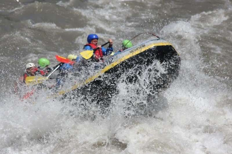 Rafting na Saalzachu