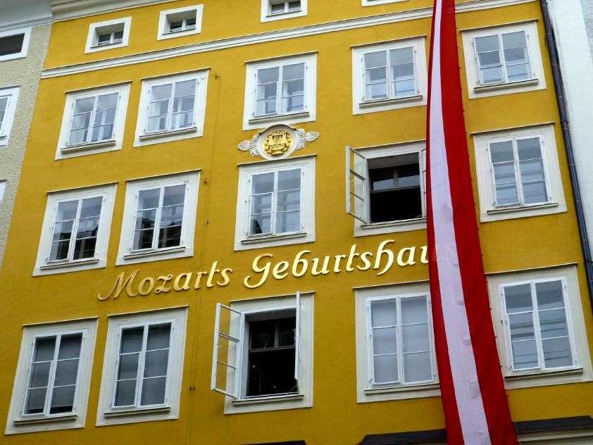 Mozartovo místo narození